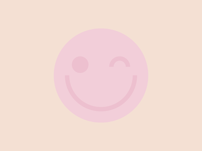 A lil' nipple action pastel illustration face smiley boob areola nipple