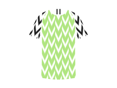 Nigeria's World Cup Kit illustration pattern nike streetwear jersey kit football soccer world cup nigeria