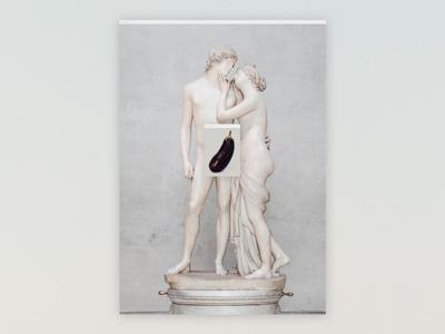 Adonis has BDE 🍆 fruits unporn unsplash museum statue adonis eggplant