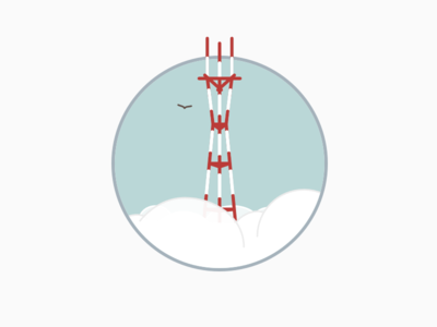 Thoughtbot SF sutro tower san francisco illustration
