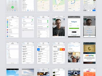 Facebook iOS 9 Sketch & PSD GUI tools free gui facebook iphone ios 9 ios facebook design