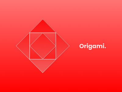Origami Concept figma concept inspiration art ui serene