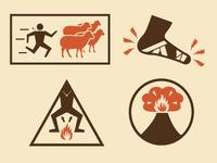 A Simple Walk Into Mordor Icons