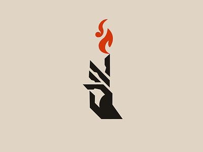 Pyromancer logo 2 demon fireworks pyromancer hand fire skull animal typography esports logo branding logo design