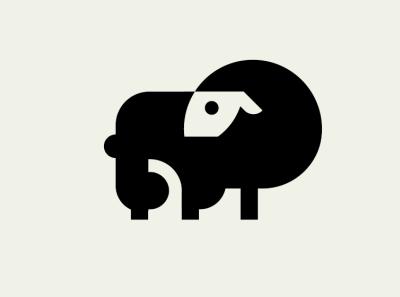 Sheep logo motion graphics graphic design 3d animation rock goat sheep animal ux ui logo branding vector mascot logo esports logotype illustration design