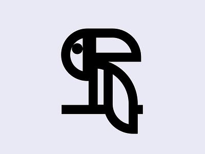 I'm not toucan. ux vector mascot logo esports logotype illustration design bird toucan branding logo motion graphics graphic design 3d animation ui