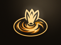 Blazar mascot logo