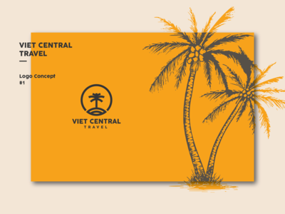 Viet Central Travel Logo Concept I #1