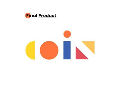 Coin Loan App Logo illustraion fintech app fintech fintech logo loan app pattern design logo design coin loan app coin final logotype option logo