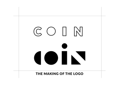 Coin Loan App Logo typography black and white blackandwhite pattern loan loan app coin logo making logo