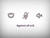 No evil.