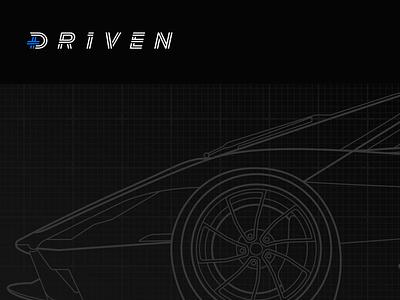 Driven Studios Illustration schematic line art vehicle super car tuatara studios driven illustration car automotive