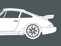 90' 964 Porsche