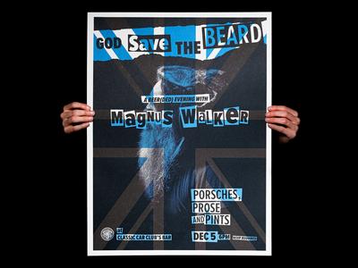 Magnus Walker Poster