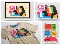 IOS Dev Days @ Microsoft - Web & Swag Designs
