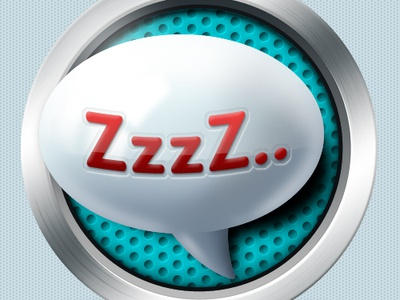Sleep icon - Czech Point System sleep icon illustration red white blue android application tired graphic design ios