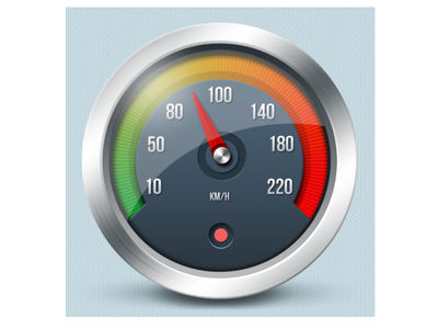 Tachometer icon - Czech Point System tachometer speedometer icon design graphic car speed illustration mobile app android ios