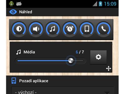 Color settings UI/UX - Smart Volume Control