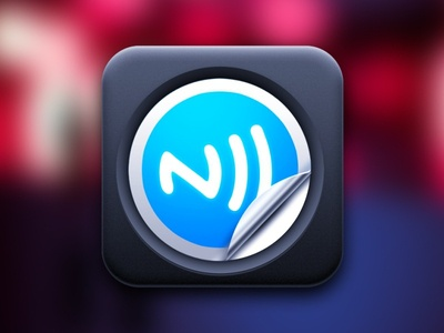 NFC Profiles for SVC - Android app icon icon design graphic illustration nfc tag android application mobile project google blue