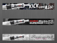 Electronic cigarette - banners