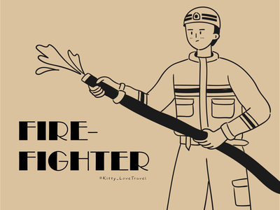 character practice-firefighter