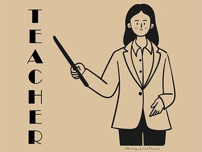 character practice-teacher