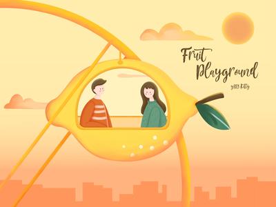 Fruit Playground-lemon