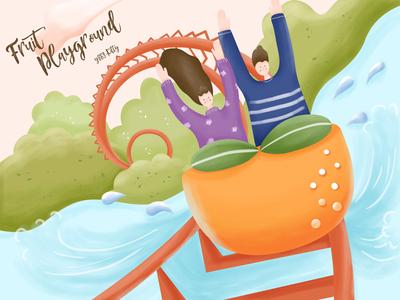 Fruit Playground-Orange