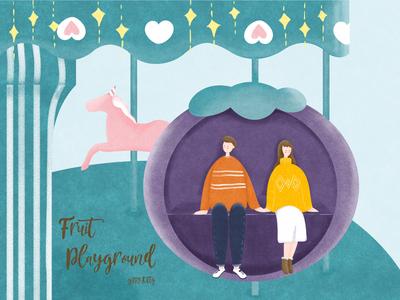 Fruit Playground-mangosteen