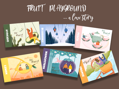 a series of Fruit Playground