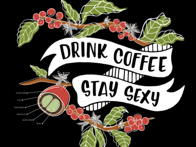 Drink Coffee. Stay Sexy.