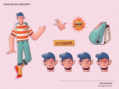 Hungry designer (character design) character concept characterdesign digital painting digital illustration illustration digitalart color design