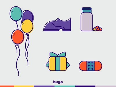 HUGO APP icons part 1