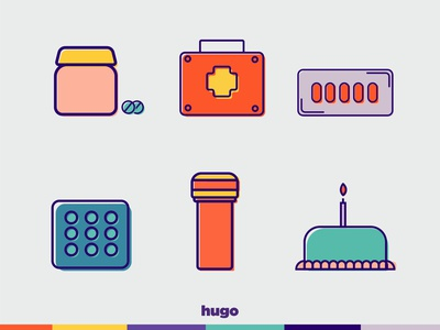 Icons HUGO APP part 2