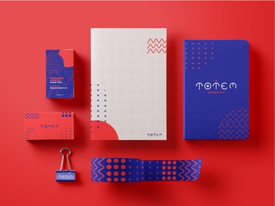 Totem- corporate stationery (part 2)