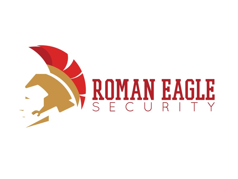 Roman Eagle Security eagle logo eagle roman security logo monogram monogram logo flat design icon branding vector logodesign logo