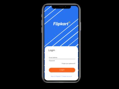 Flipkart Login New Concept