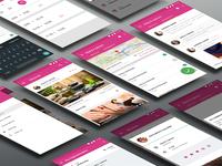Hera App Android UI