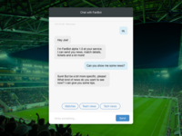 Web chat(bot) interface