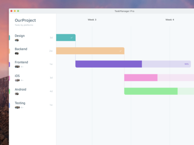Task Manager Concept