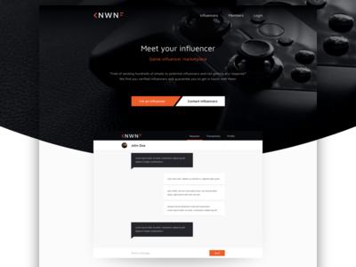 Landing: gaming influencer market
