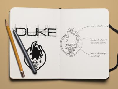Duke Drink logo concept