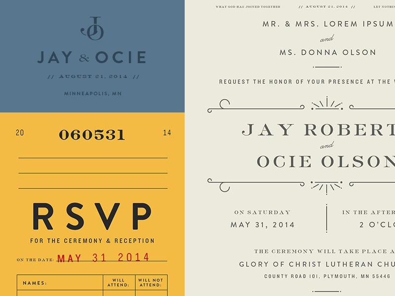 Invite Type type wedding invitation vintage library card