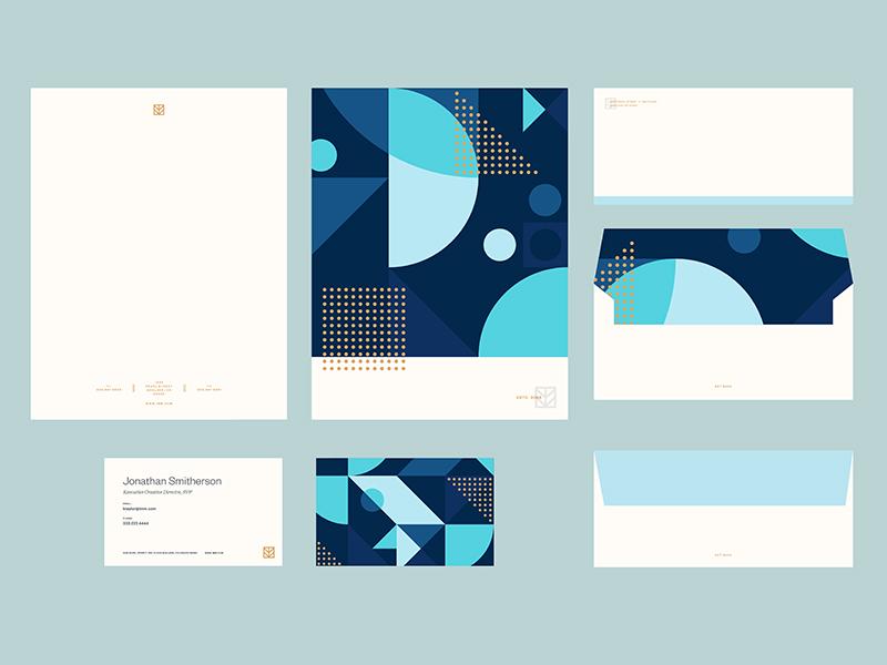 IMM Brand Stationery by Andrew Littmann - Dribbble