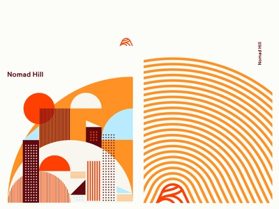 Nomad Patterns 1 mid century pattern littmann identity brand nomad hill