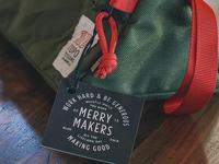 Christmas Bag Tag