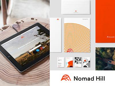 Nomad Hill Case Study nomad hill mid-century littmann identity brand hill nomad