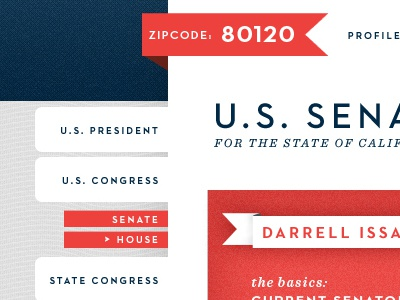 Political Site politics political red navy blue wavy lines texture navigation ribbon noise