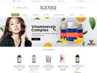 IGENIQ - healthy food and cosmetics
