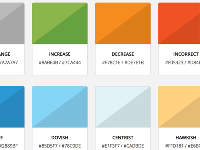 Pattern Library Color Swatches